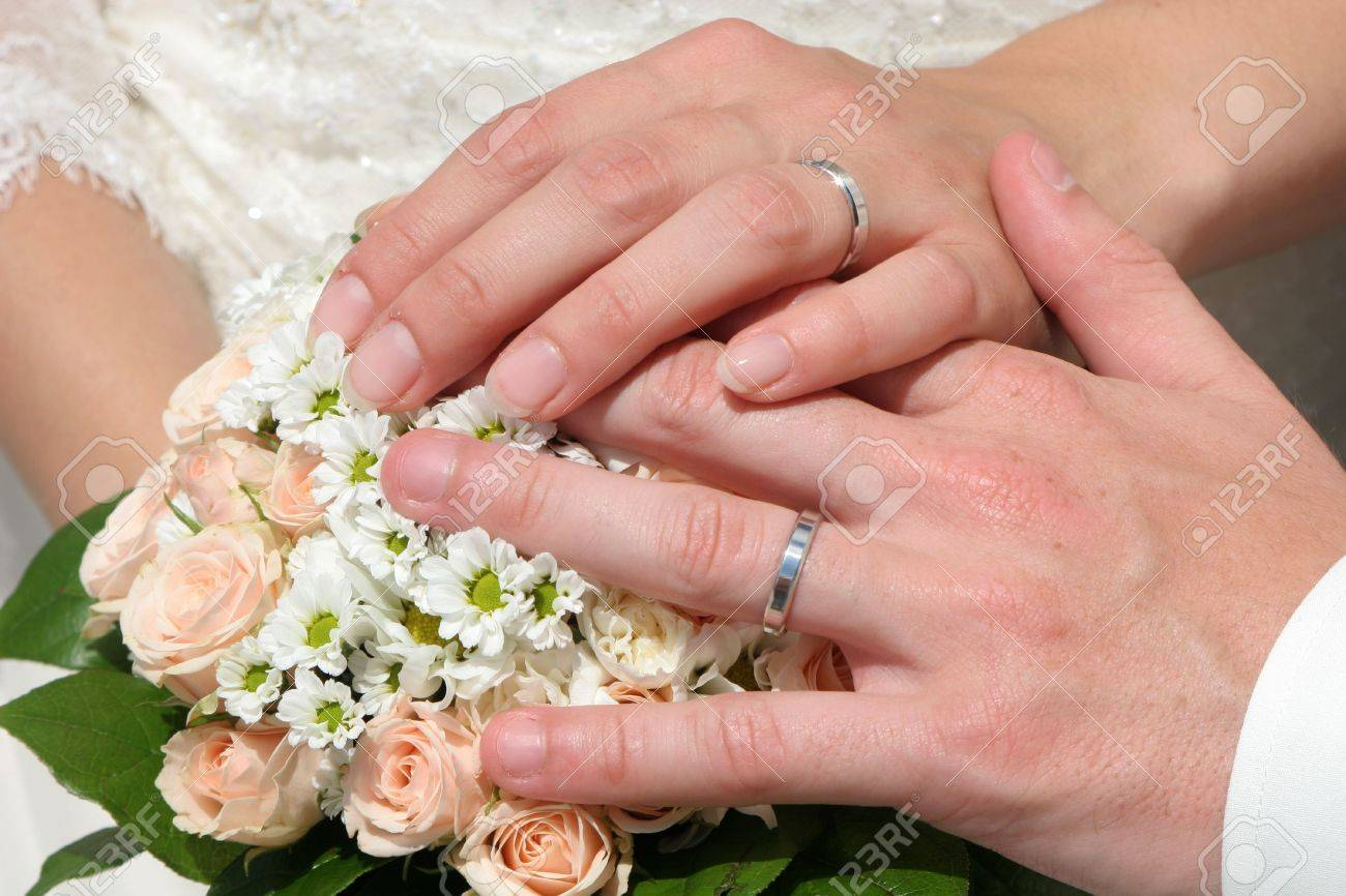 Marriage - Hands Stock Photo, Picture And Royalty Free Image. Image ...