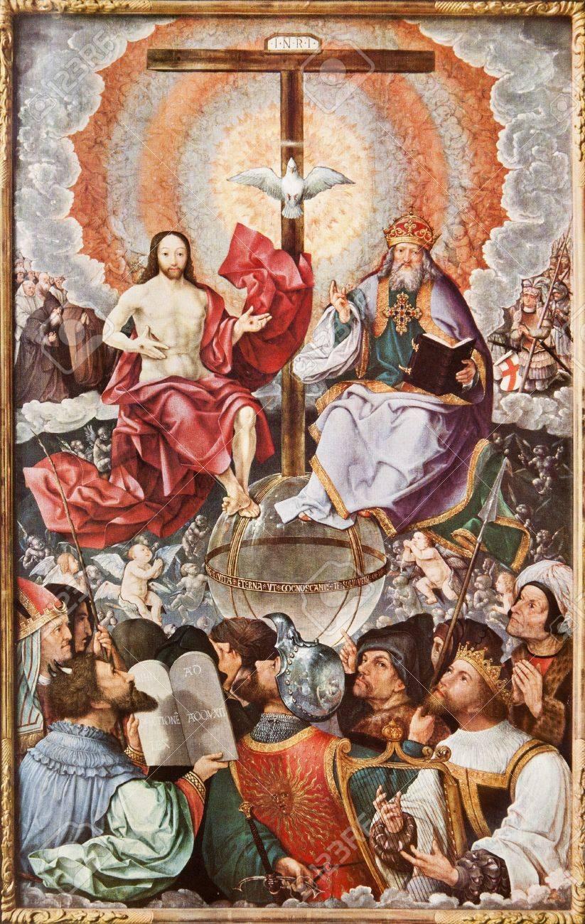 Image result for jesus cross trinity in heaven