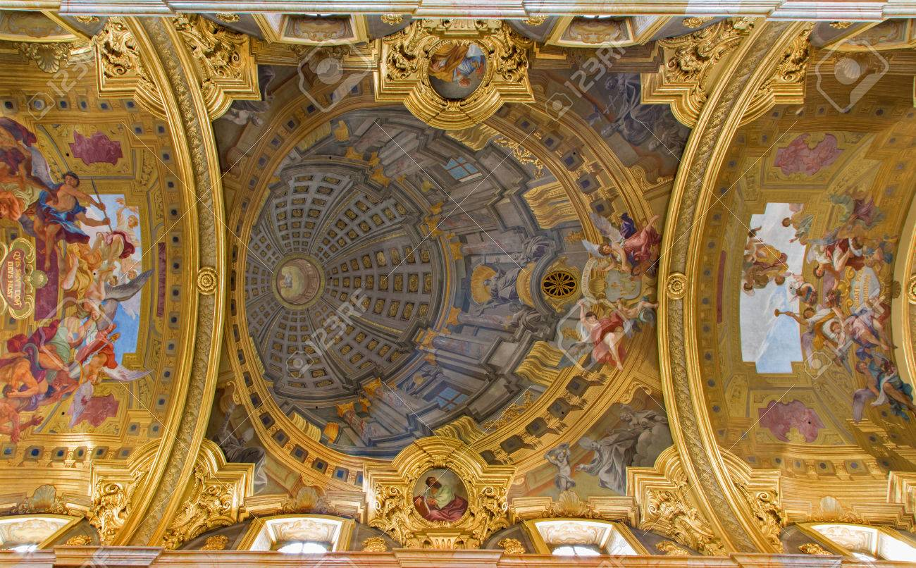 Baroque ceiling energywarden vienna july 3 frescos from ceiling of nave in baroque jesuits dailygadgetfo Gallery