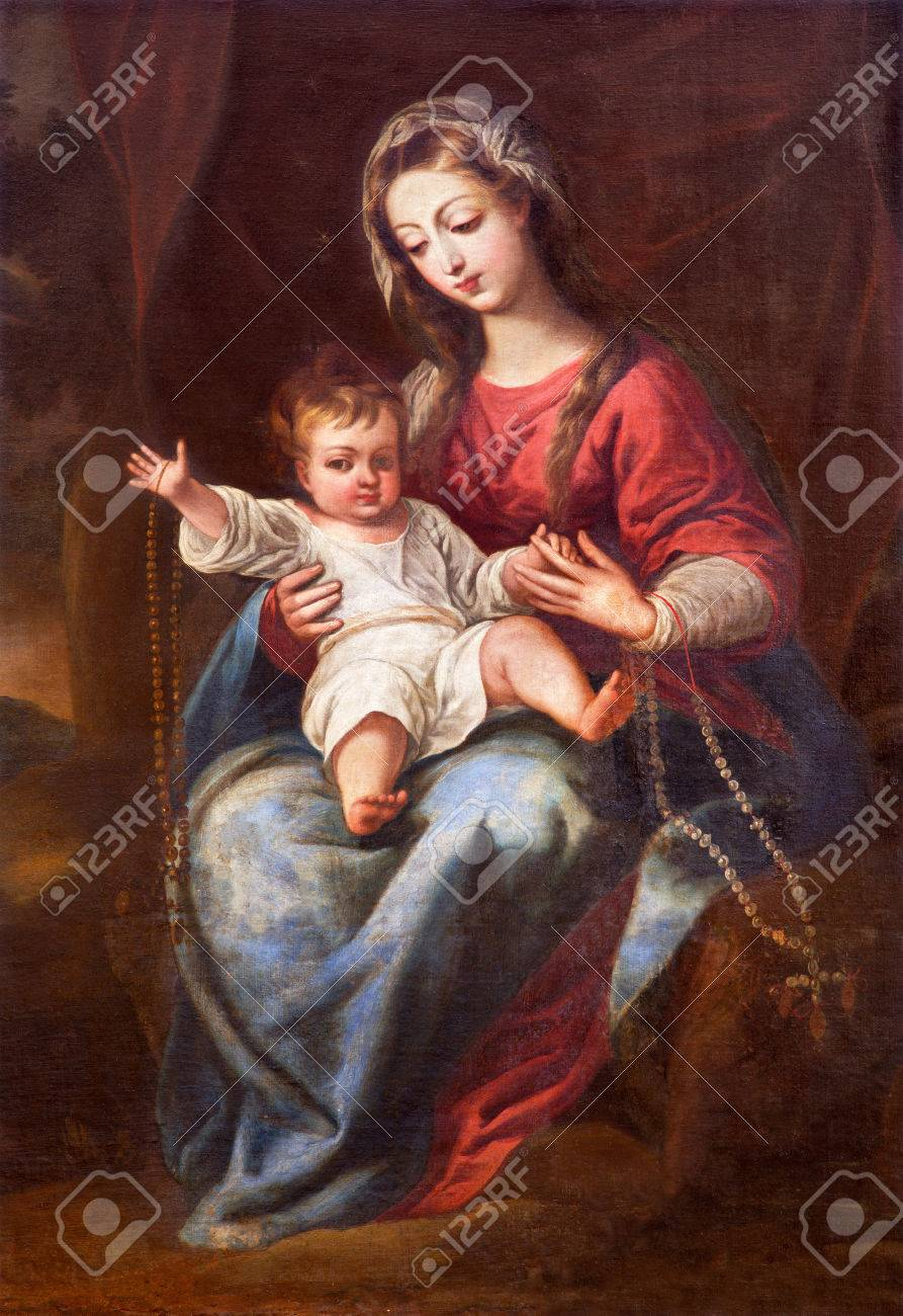Granada Spain May 31 2015 The Madonna The Virgin Of The Stock Photo Picture And Royalty Free Image Image 60813236
