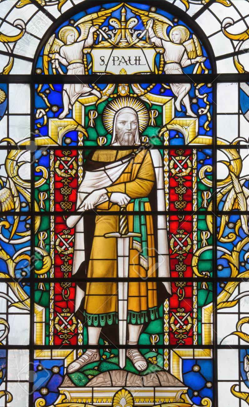 Image result for st paul stained glass window