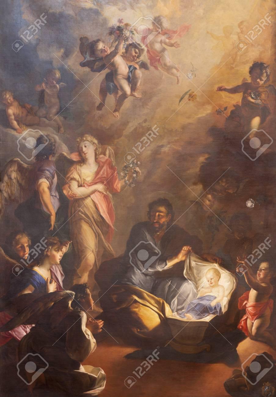Prague Czech Republic October 18 2018 The Baroque Painting