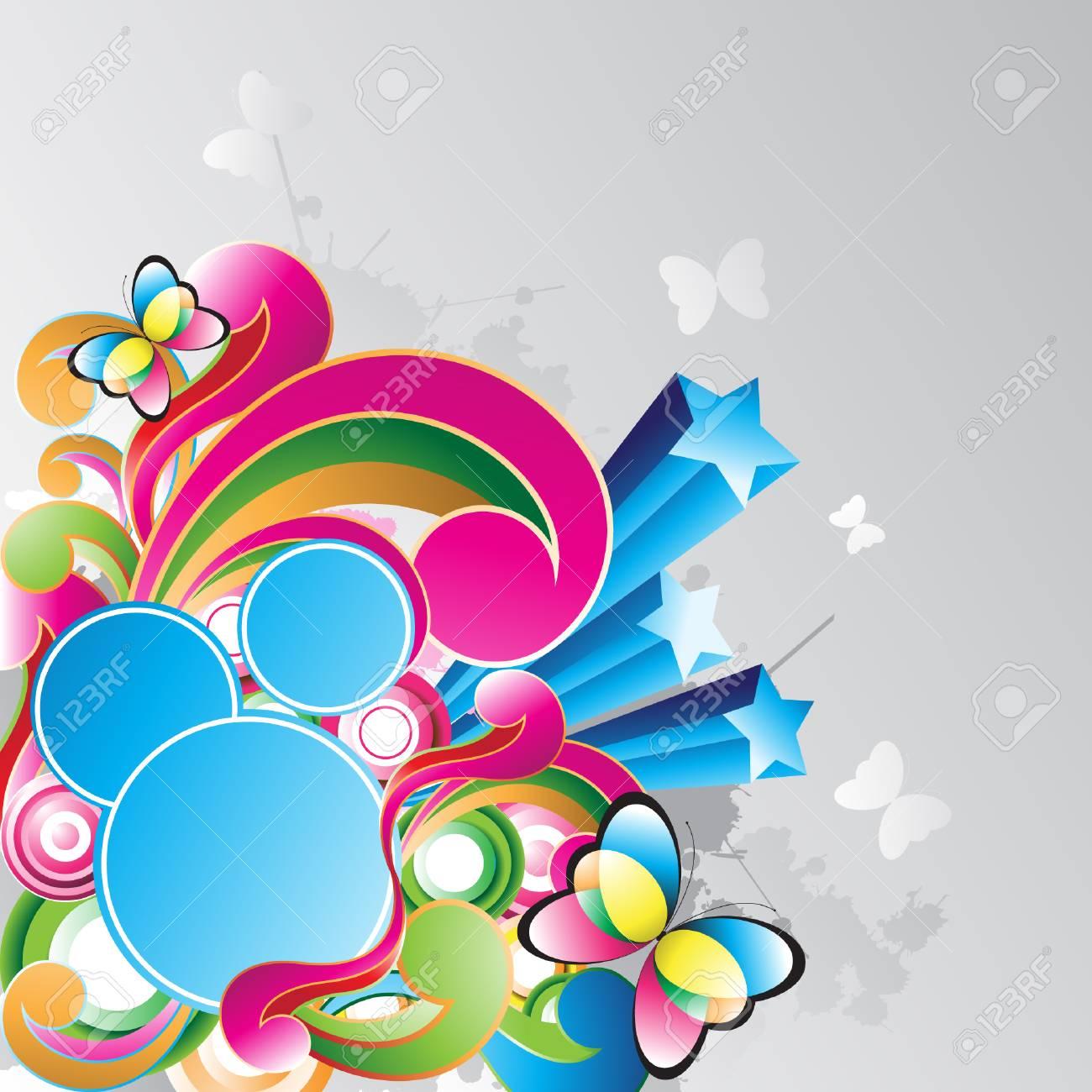abstract vector illustration Stock Vector - 4896394