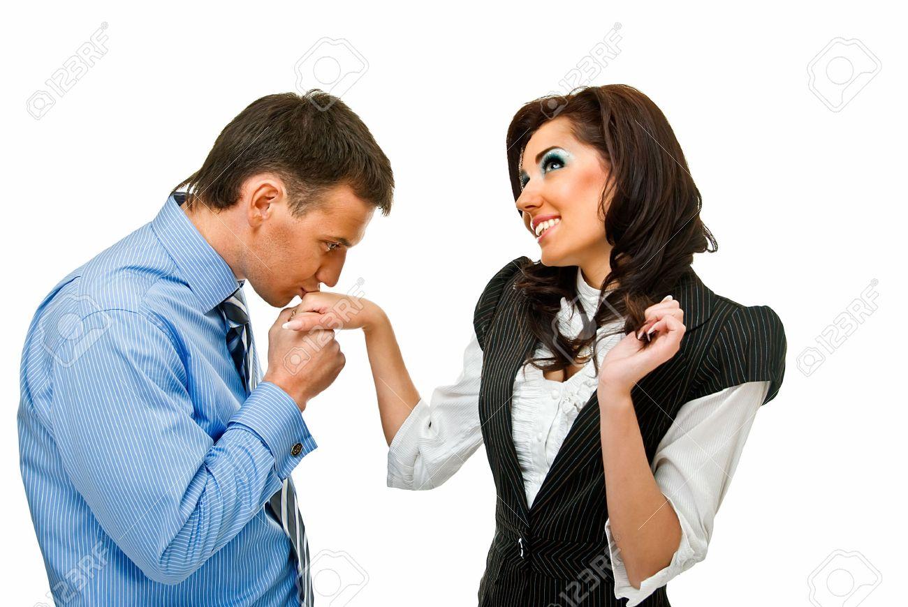 Woman why man hand kiss The Turkish
