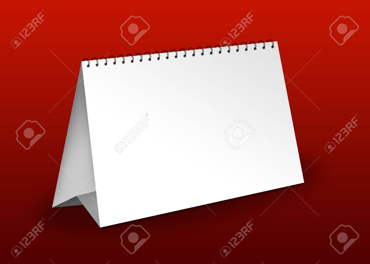 Business Table calendar Stock Photo - 4291890
