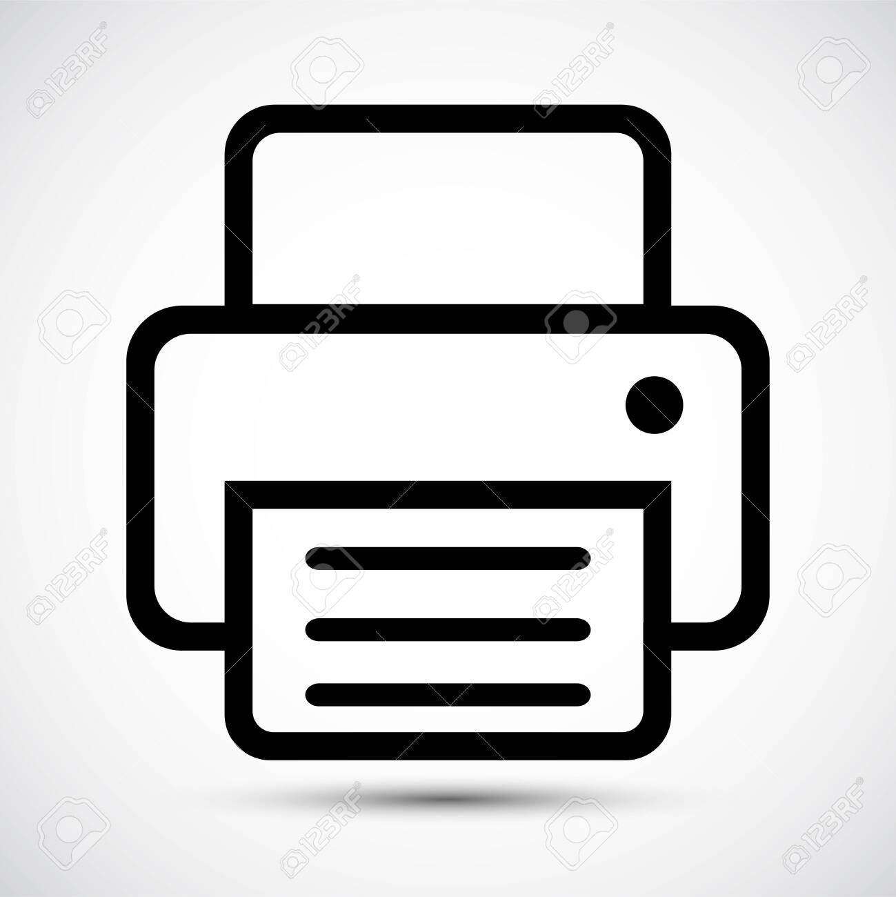 fax icon symbol sign isolate on white background vector illustration royalty free cliparts vectors and stock illustration image 129618858 fax icon symbol sign isolate on white background vector illustration
