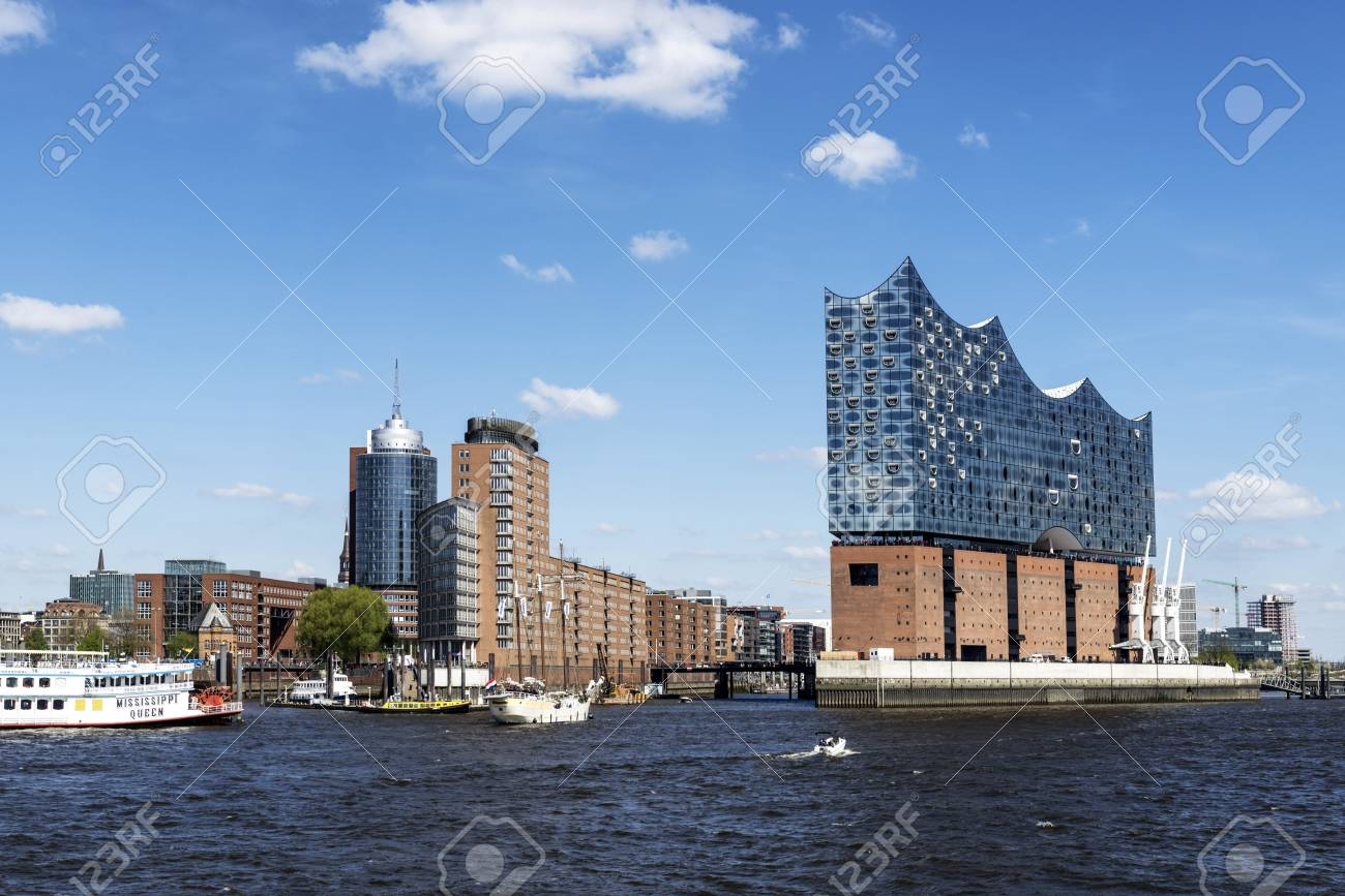 Elbphilharmonie Hamburgs New Landmark Concert Hall Is Being Erected On A Former Portal With