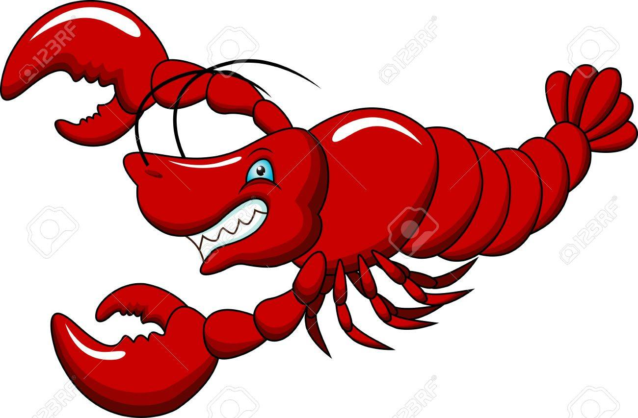 Vector - lobster carto...
