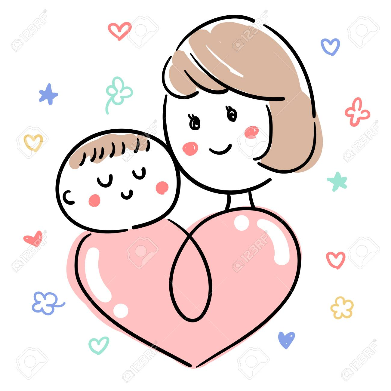 Baby and child care Mother - 94148391