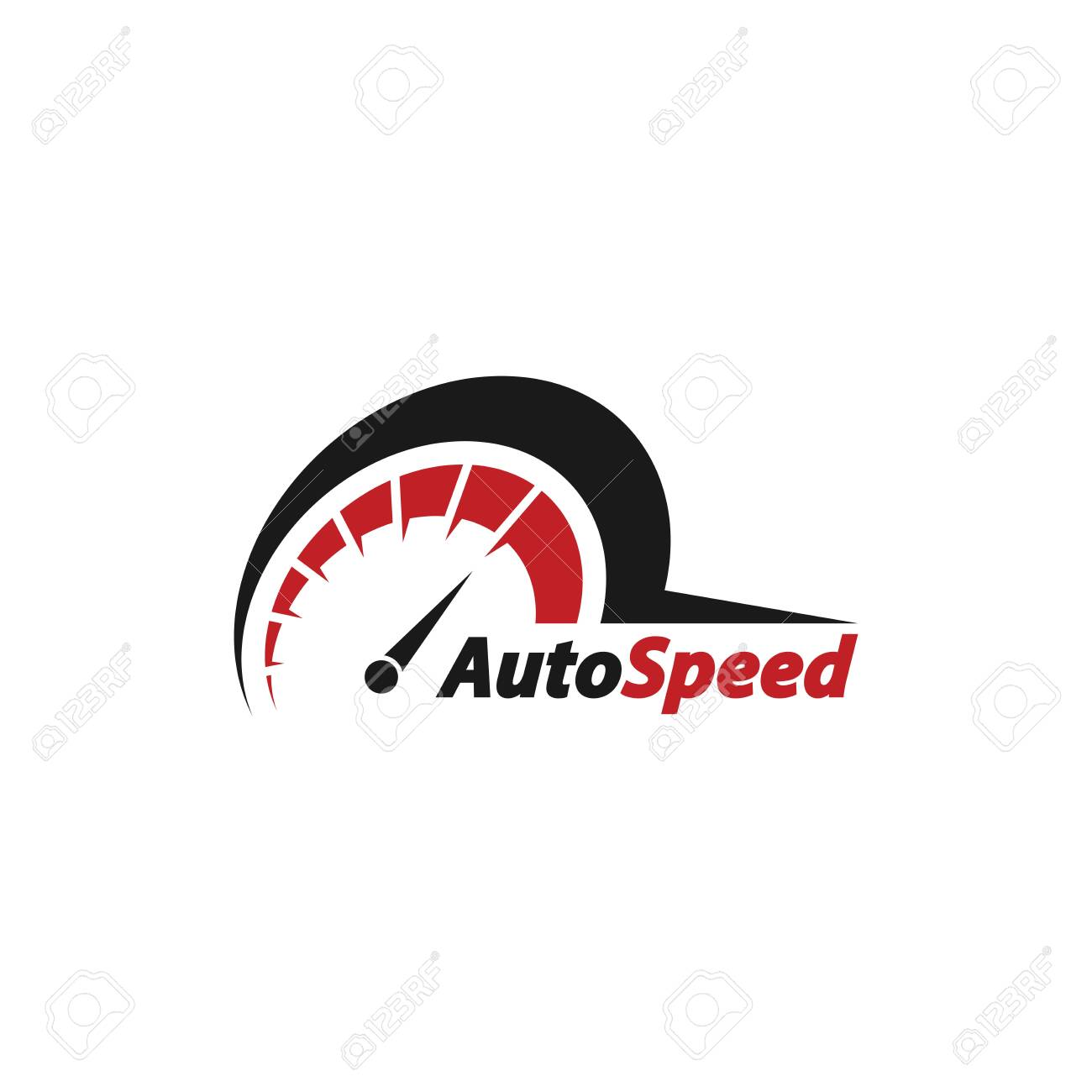 Auto speed logo vector Illustration - 149402483