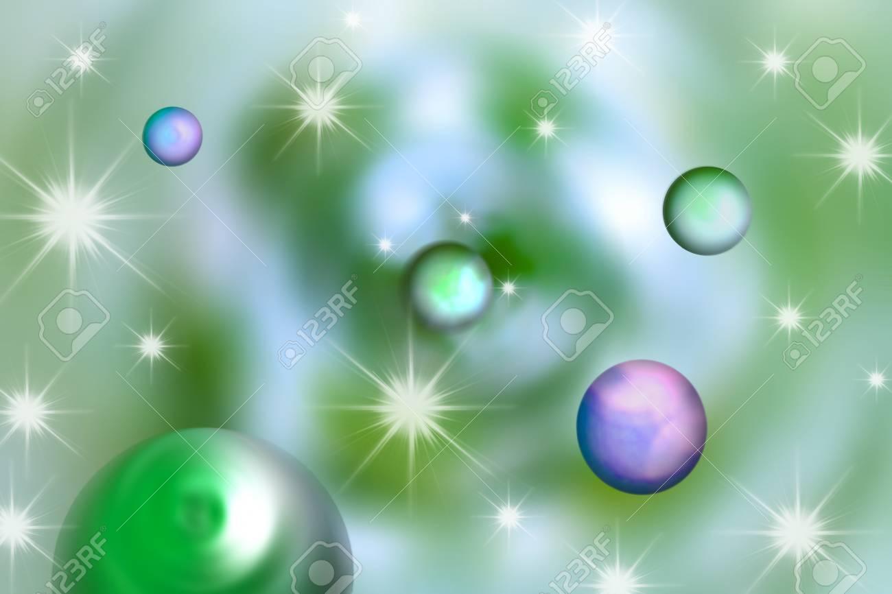 Immagini Stock Immagine Della Galassia Verde Per Lo Sfondo E Le