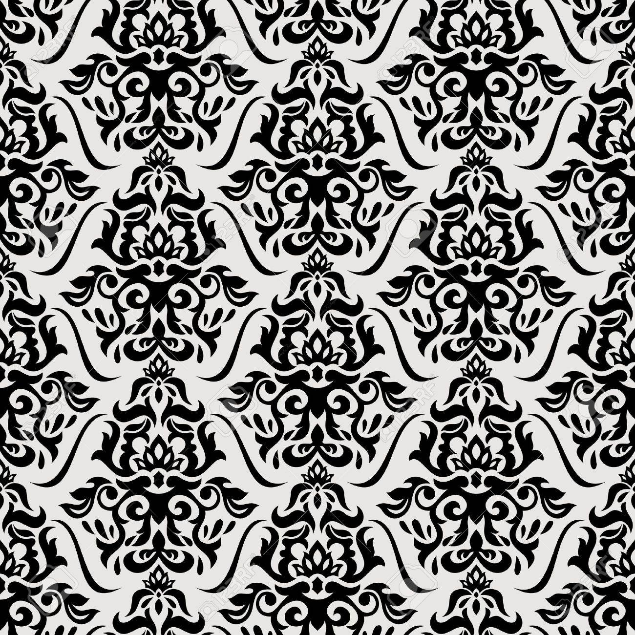 Abstract floral seamless pattern background vector illustration Stock Vector - 22098730