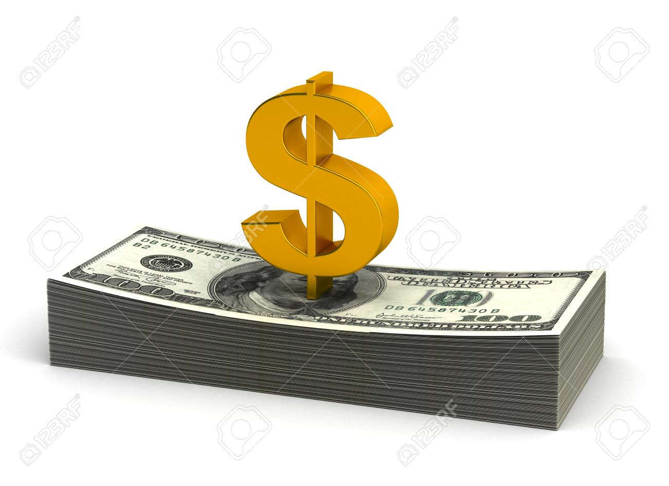 Stack of Dollar Stock Photo - 14376871