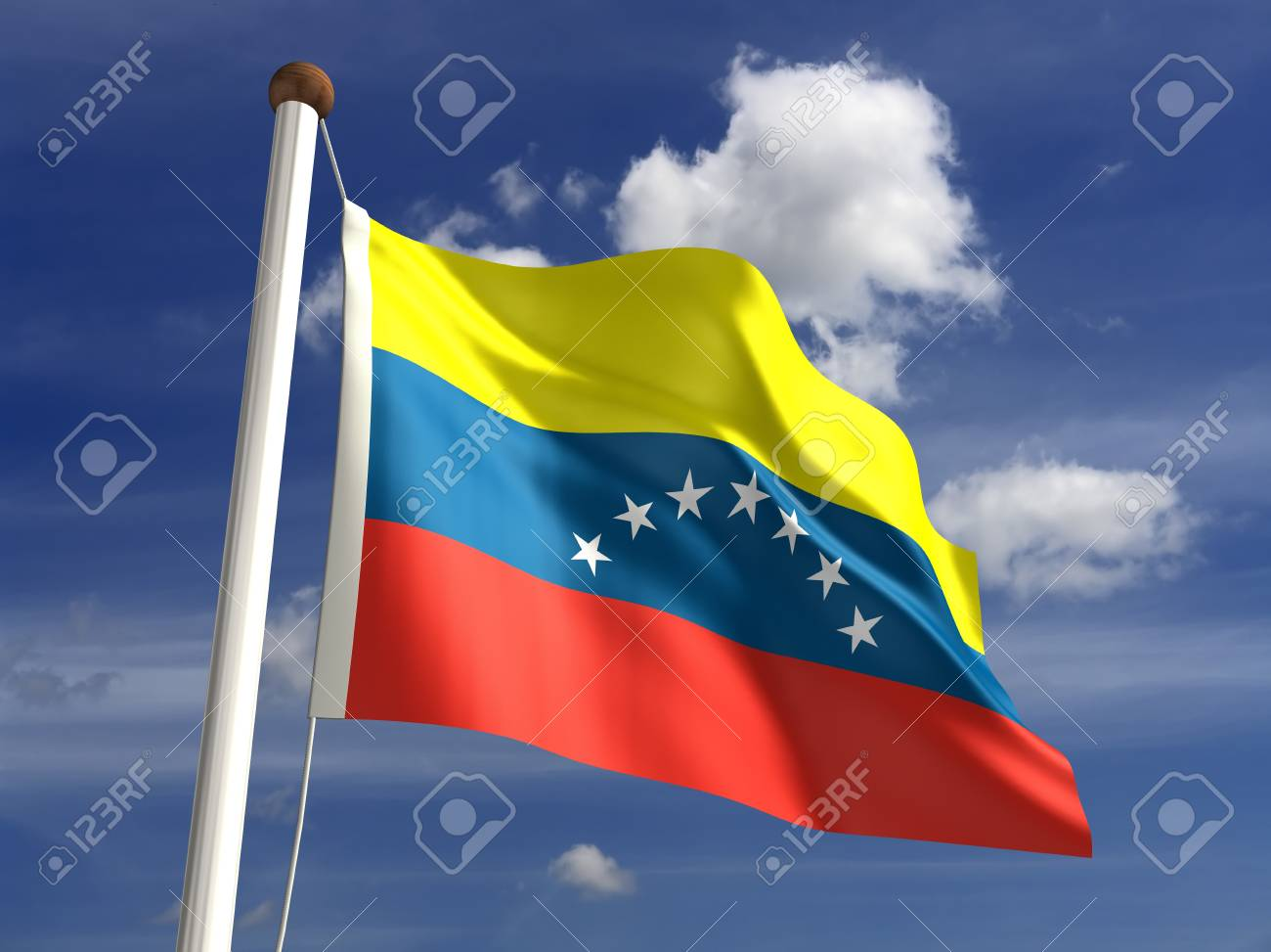 3D Venezuela flag Stock Photo - 14552369