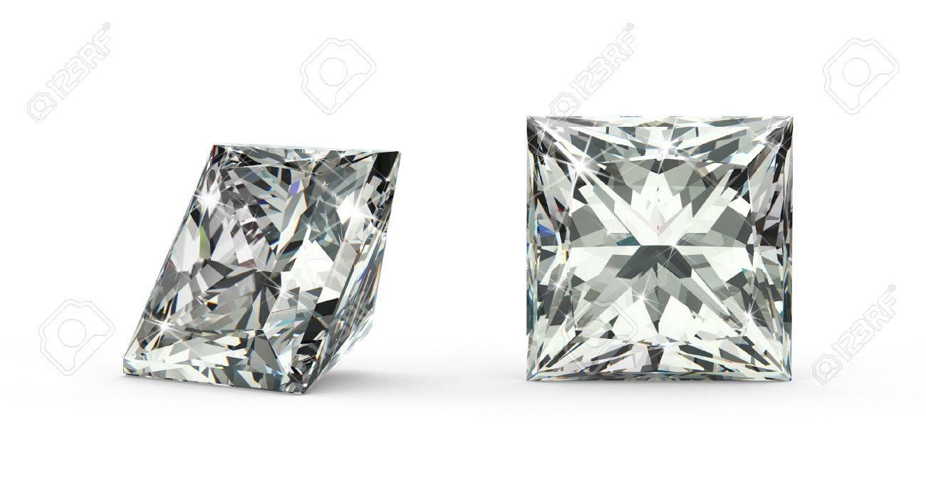 Princess Cut Diamond - 21410875