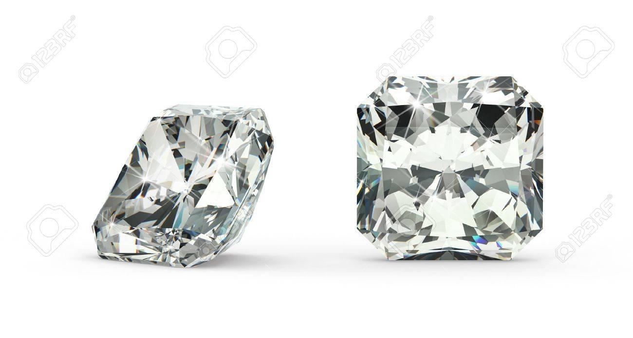Radiant Cut Diamond - 21410876