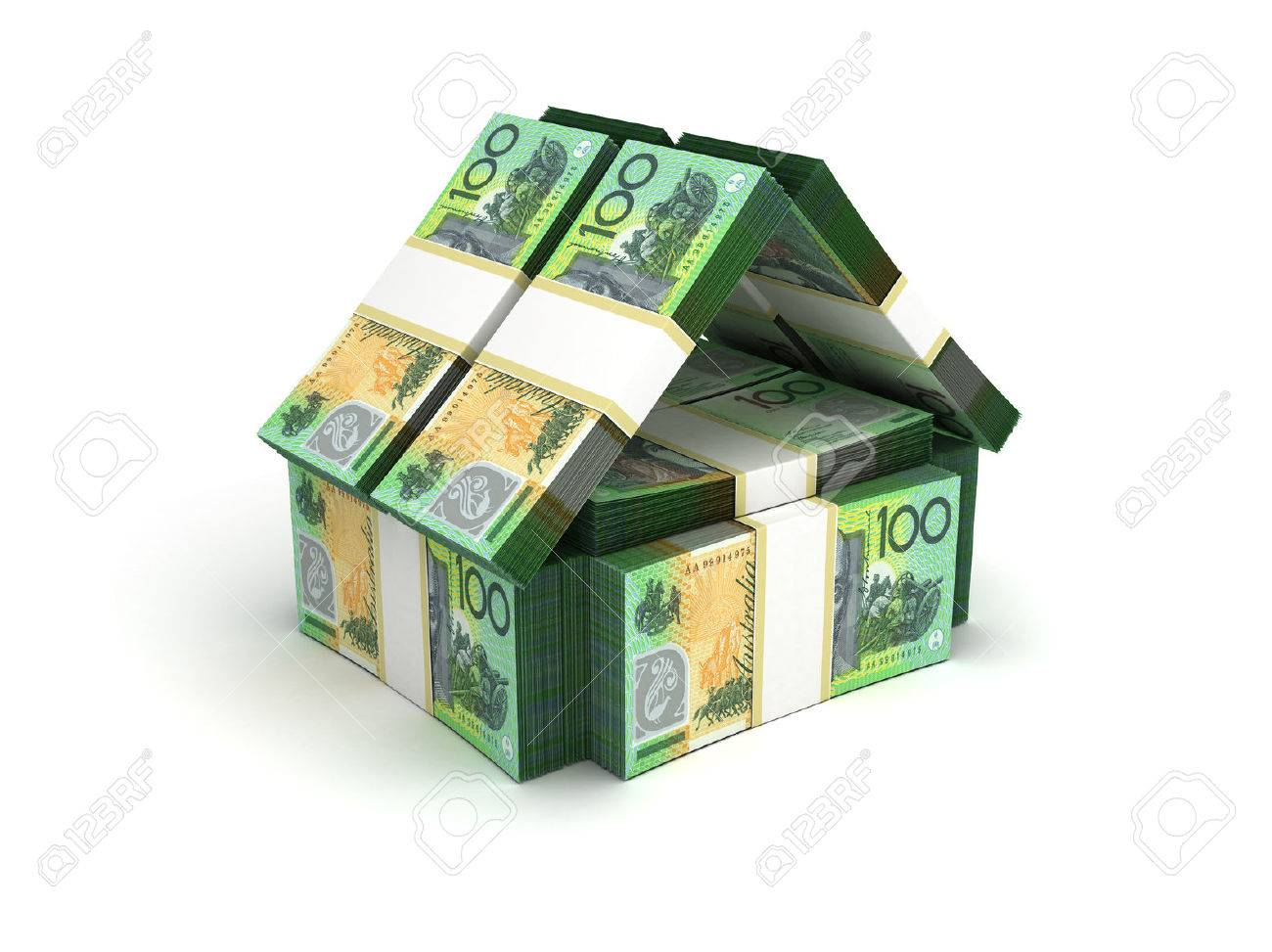 Real Estate Concept Australian Dollar - 23411205
