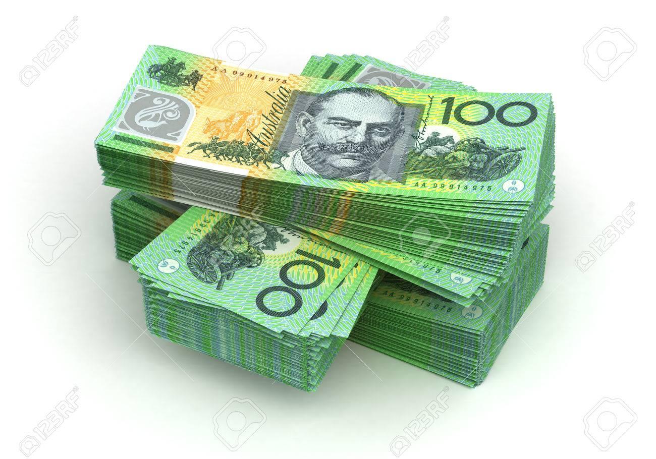 Stack of Australian Dollar - 23411241