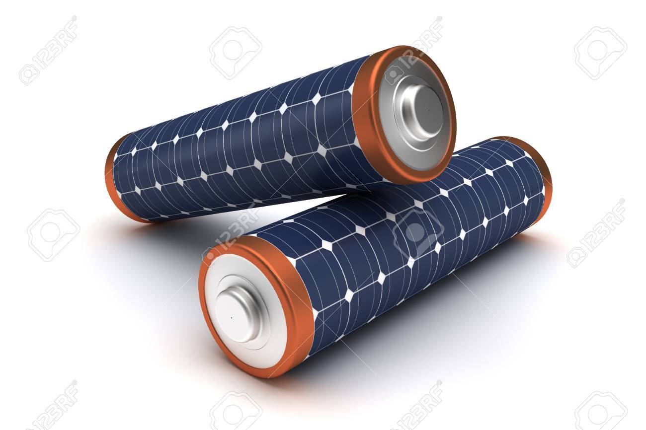 Solar Energy Batteries - 38719404