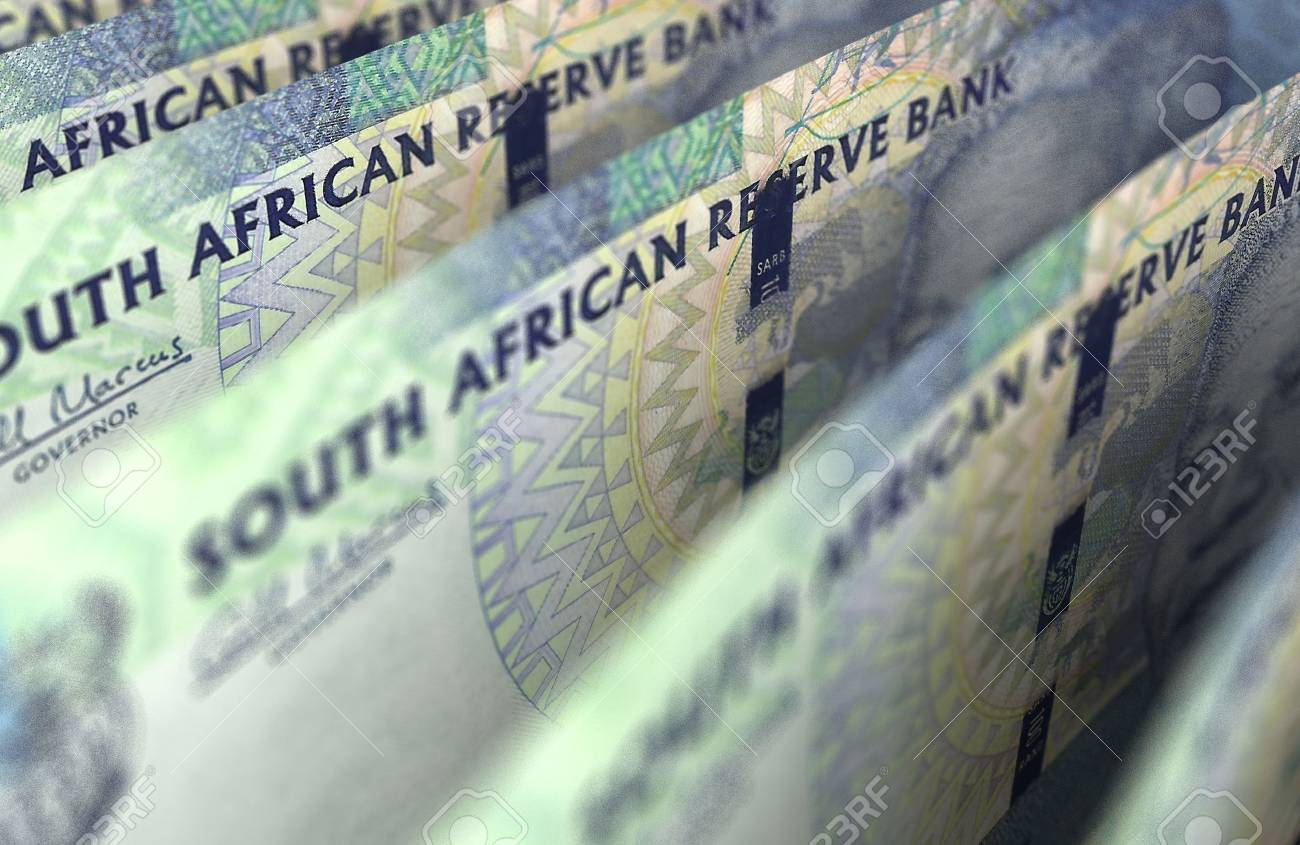 South African Rand Closeup - 68224788