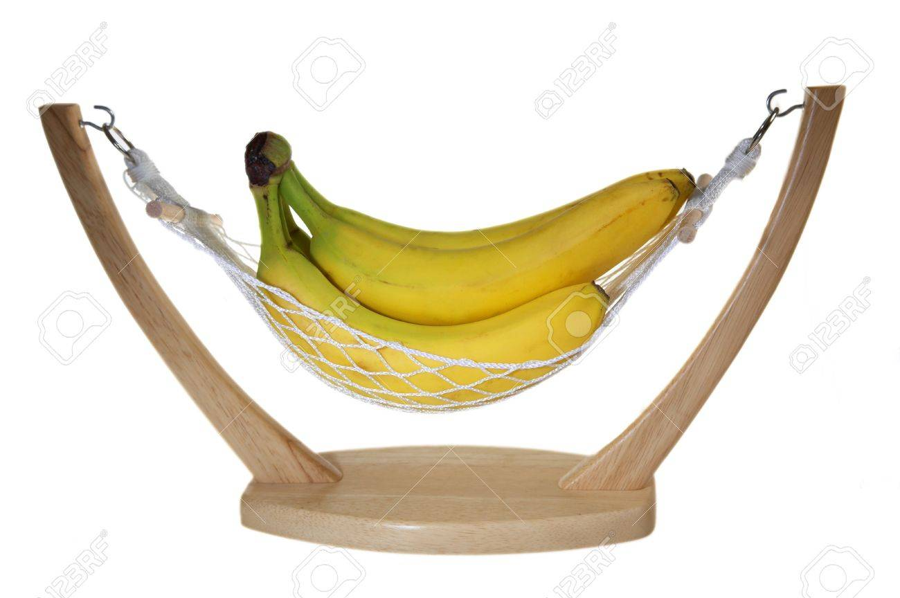bananas in hammock isolated on a white background stock photo   4535916 bananas in hammock isolated on a white background stock photo      rh   123rf