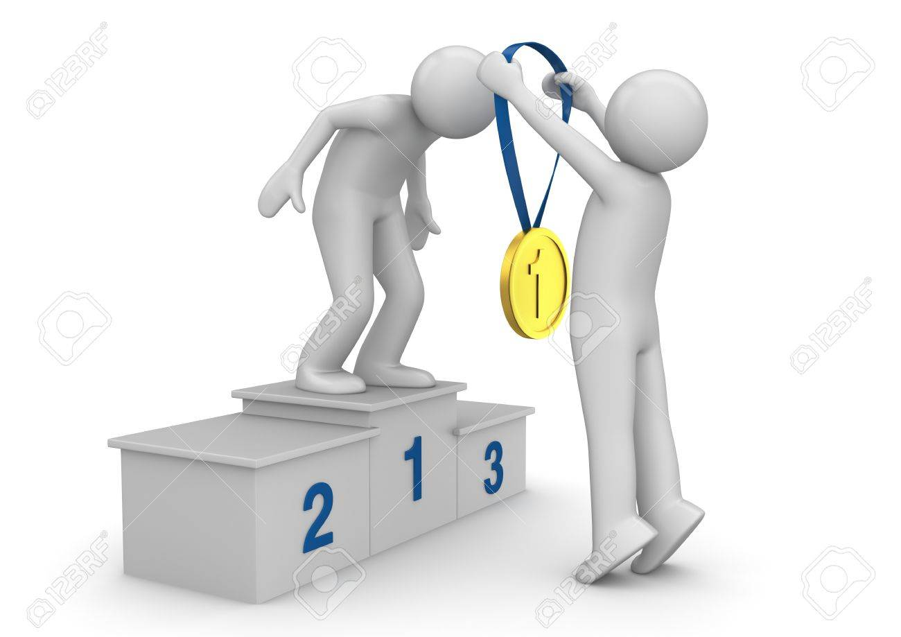 Image result for 3d man with medal
