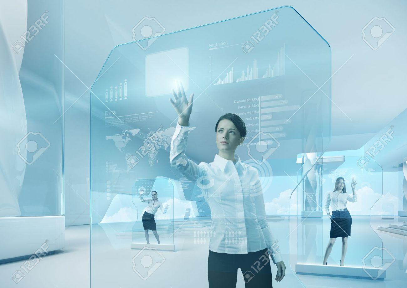 Future Concept Technology Future Technology Touchscreen