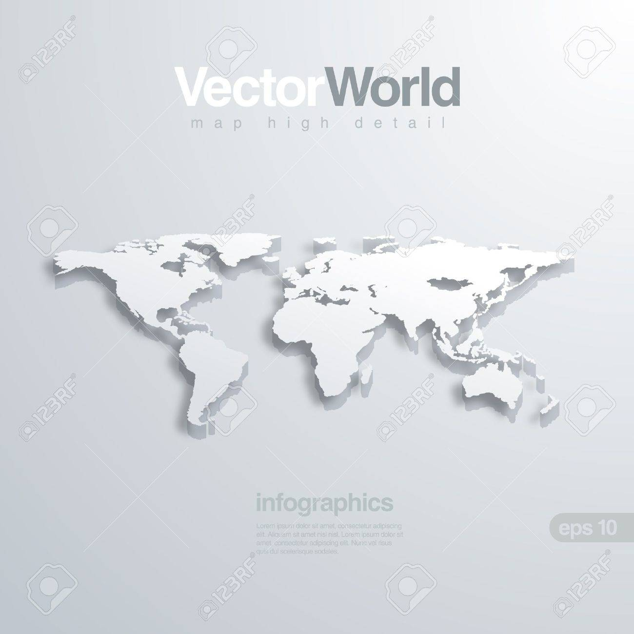Mapa del mundo illlustraion 3d til para la infografa foto de archivo mapa del mundo illlustraion 3d til para la infografa gumiabroncs Images
