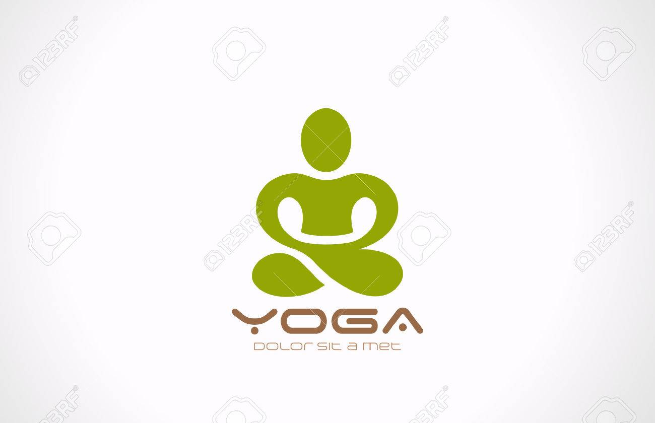 yoga pose vector logo design beauty spa relax massage meditation royalty free cliparts vectors and stock illustration image 27018861 yoga pose vector logo design beauty spa relax massage meditation