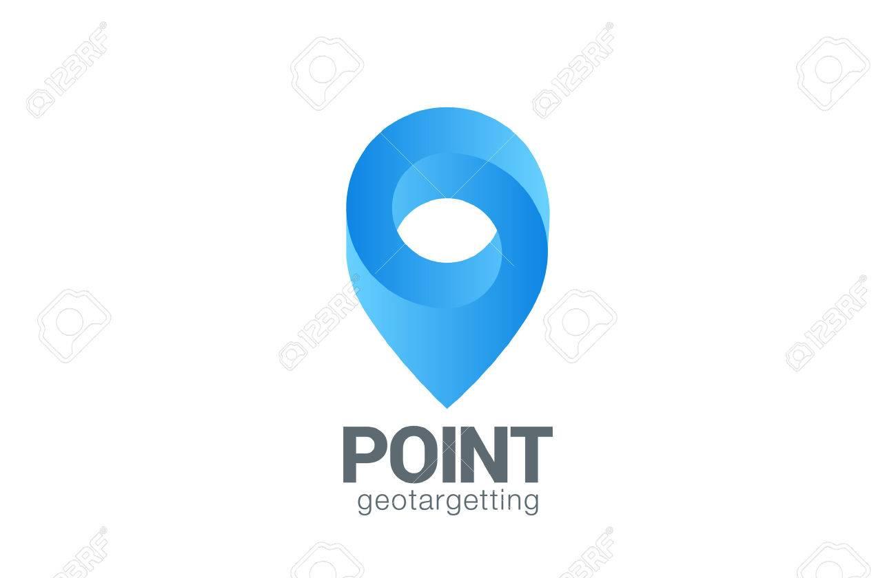 場所ピン マップ シンボル ベクトル デザイン テンプレートです 地理的