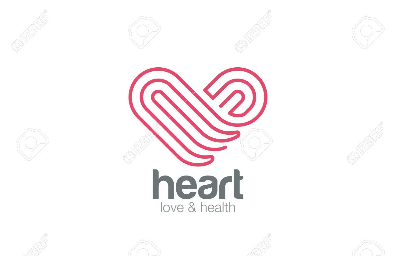 Dating logo sjablonen