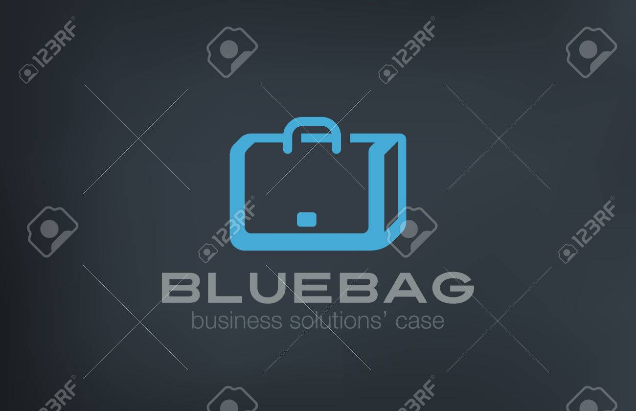 Briefcase Logo Design Vector T...