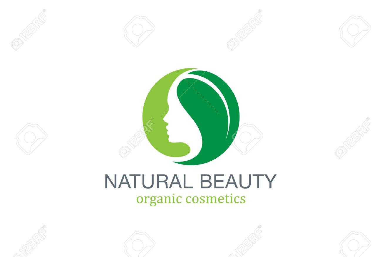 Belleza SPA Moda Salon Logo Círculo Plantilla De Diseño Vectorial ...