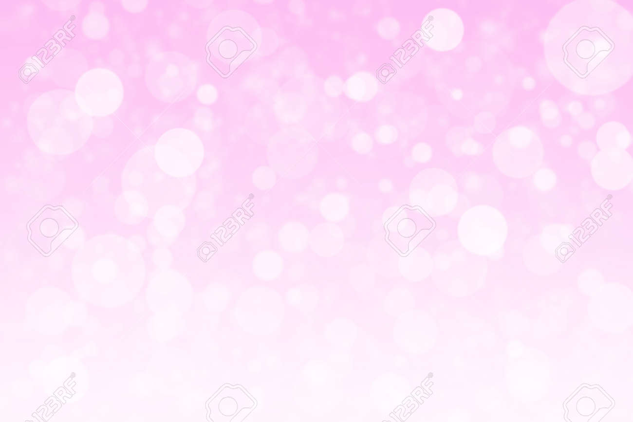Abstract pink bokeh background - 148199769