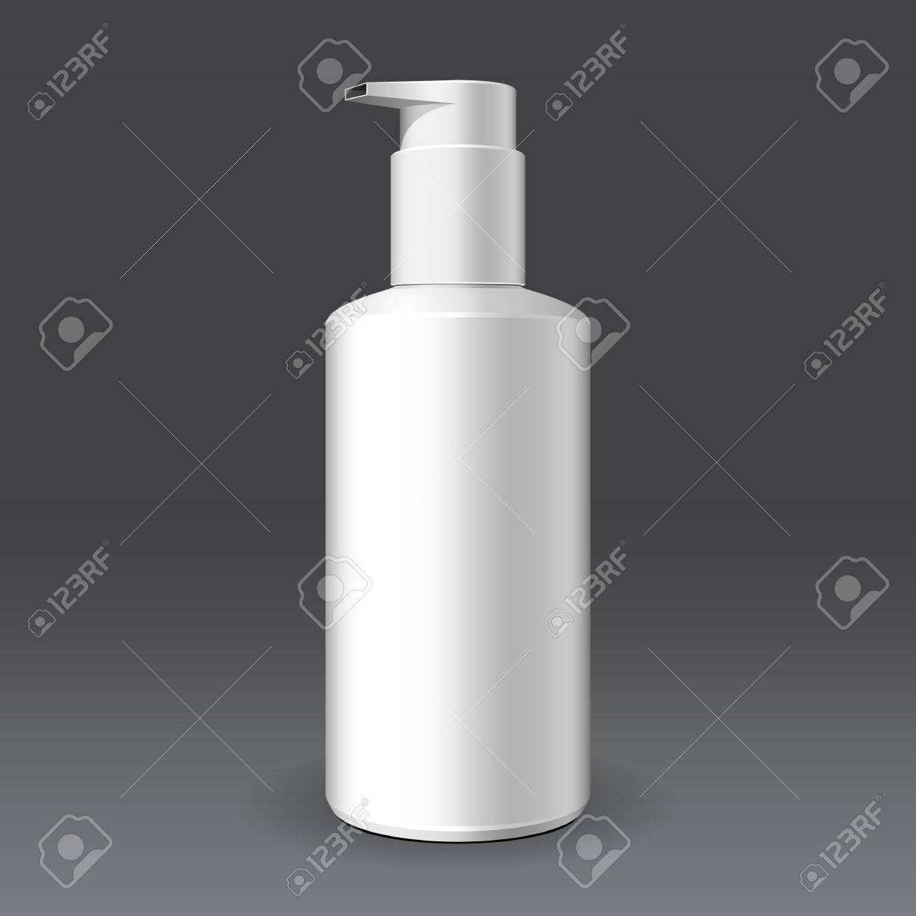 Gel, Schaum Oder Seifenspender Pumpe Aus Kunststoff Weiß