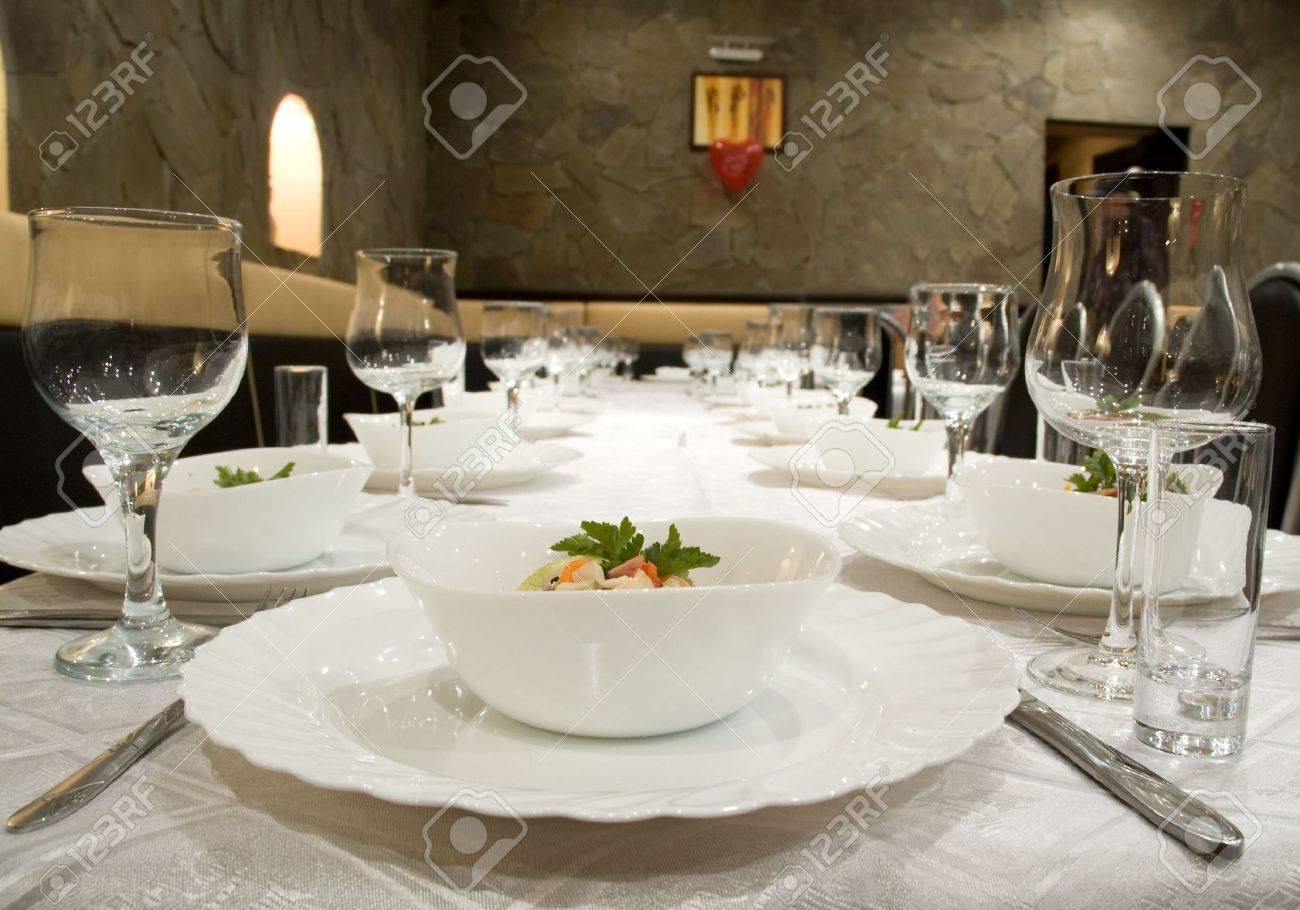 banquet Stock Photo - 6459107