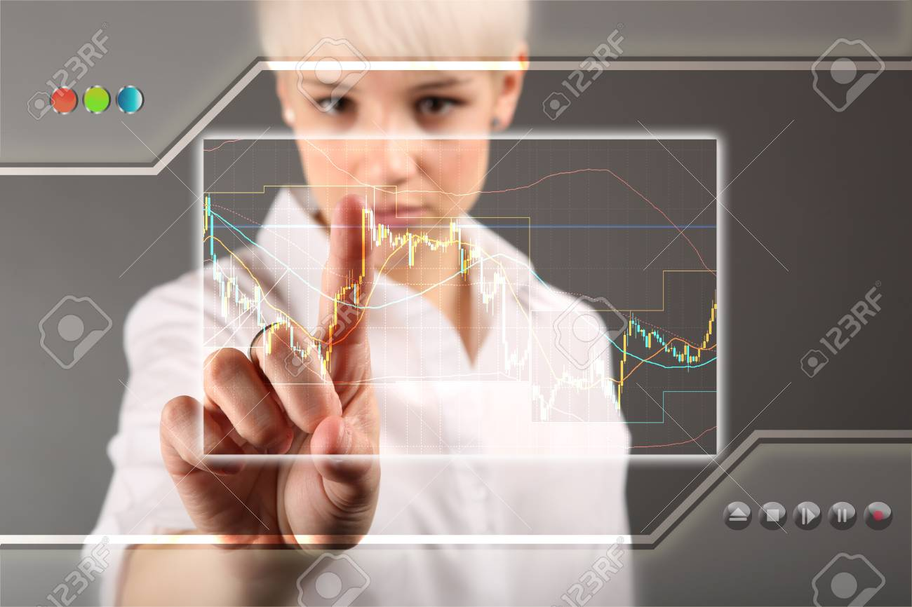 Forex trading Stock Photo - 13173489