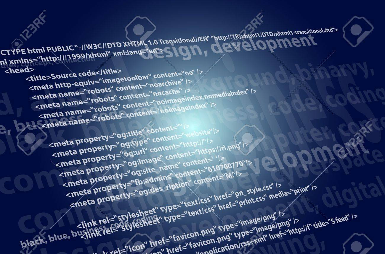 Background image xhtml - Jpg 1300x860 Source Code Background