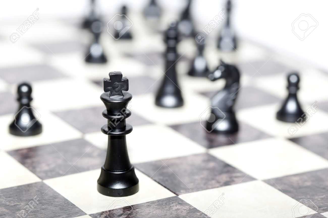 chess figures - strategy and leadership concept - 16455659
