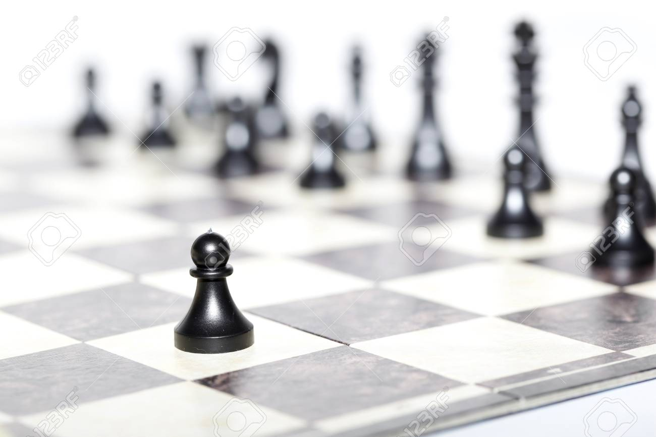 chess figures - strategy and leadership concept - 16557207