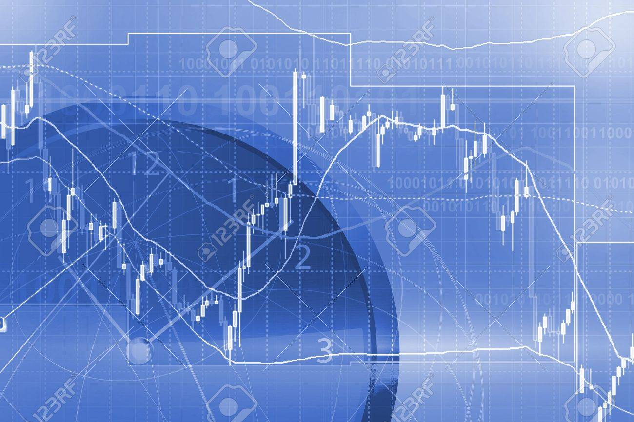 Forex trading background concept - 18534017