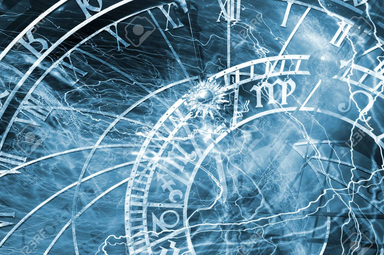 Detail of the Prague Astronomical Clock in thePrague Old Town - 31286862