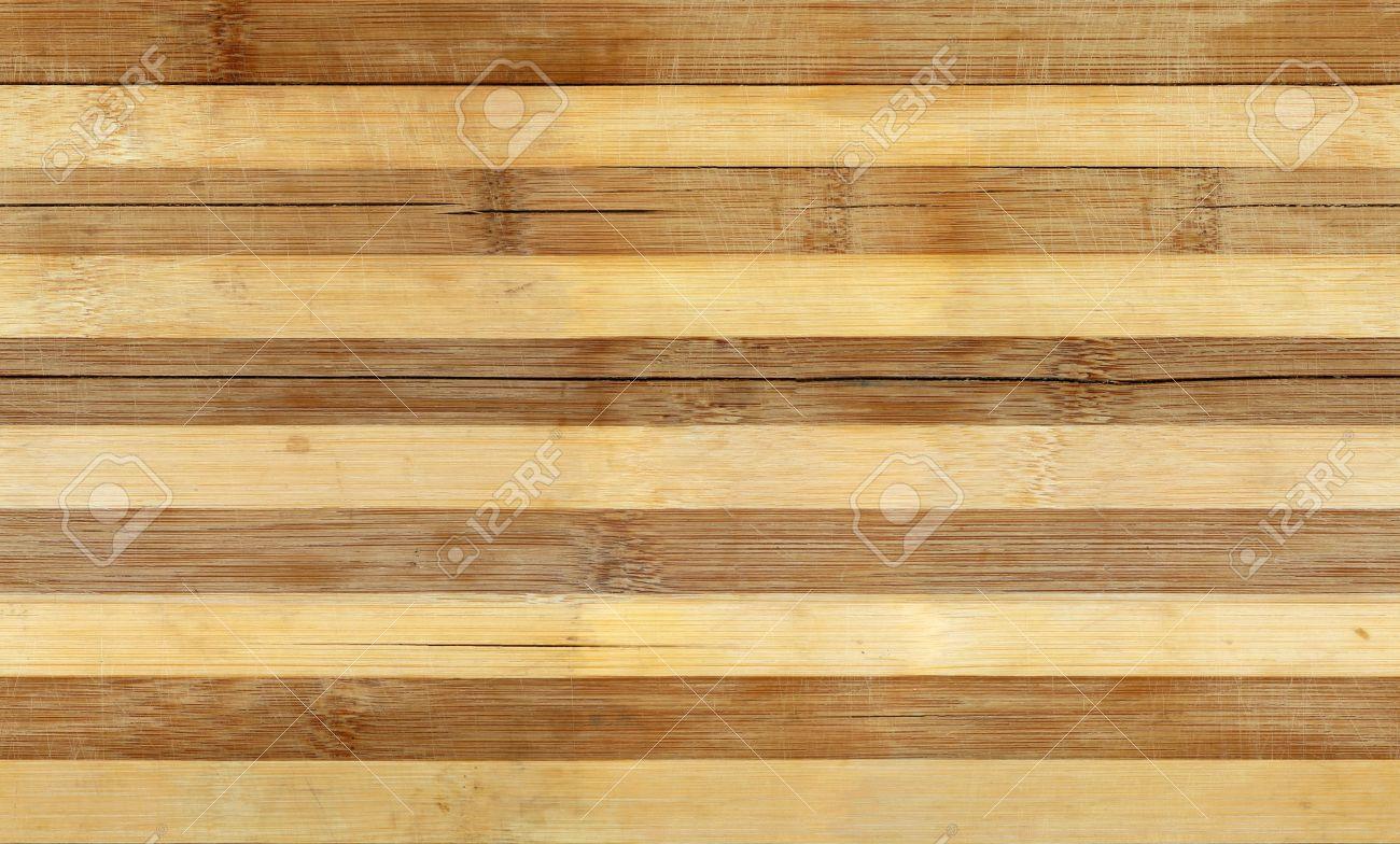 Immagini stock bordo di legno di bambù a strisce senza soluzione