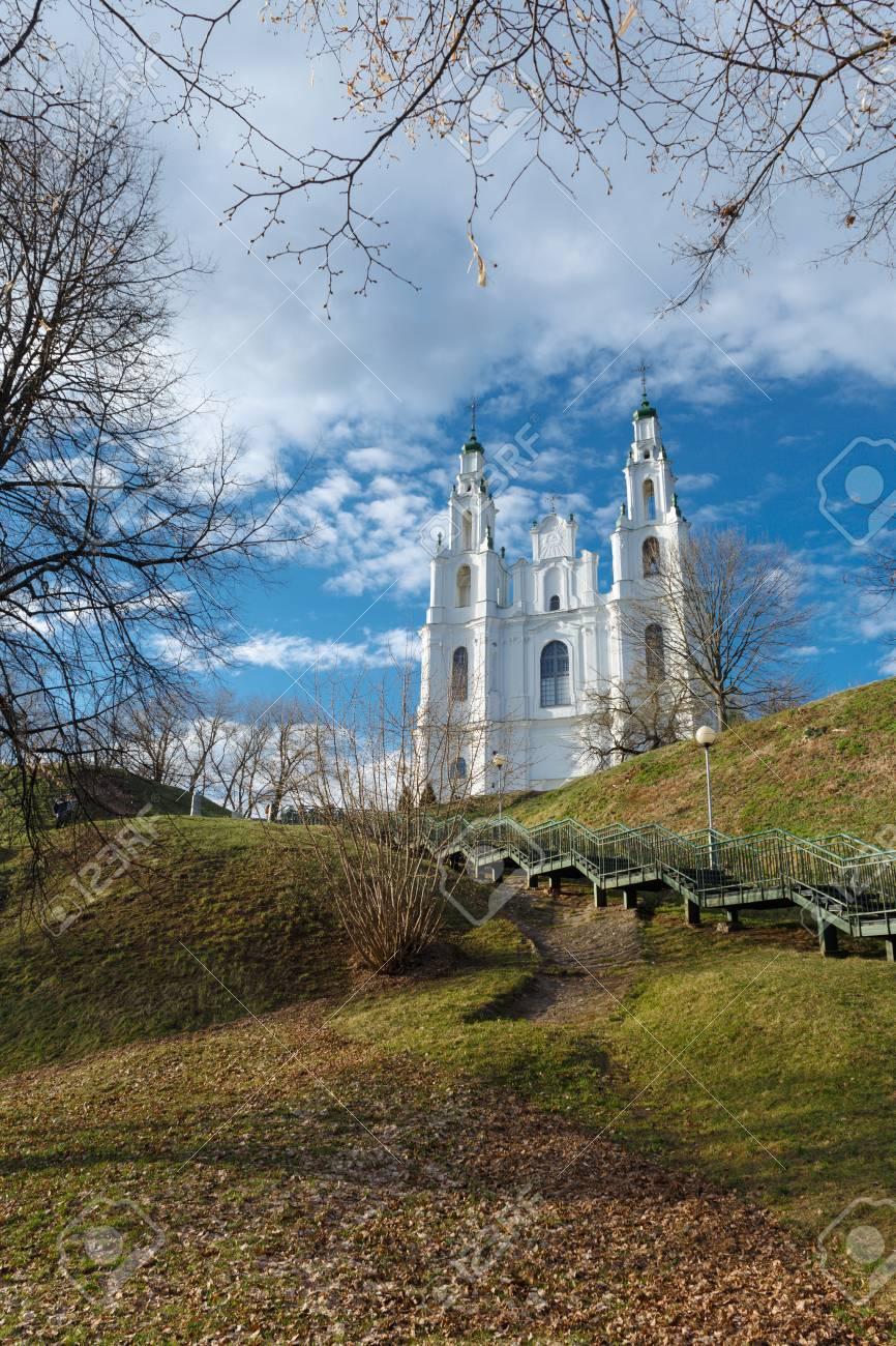 聖なる知恵の大聖堂。2017 の春...