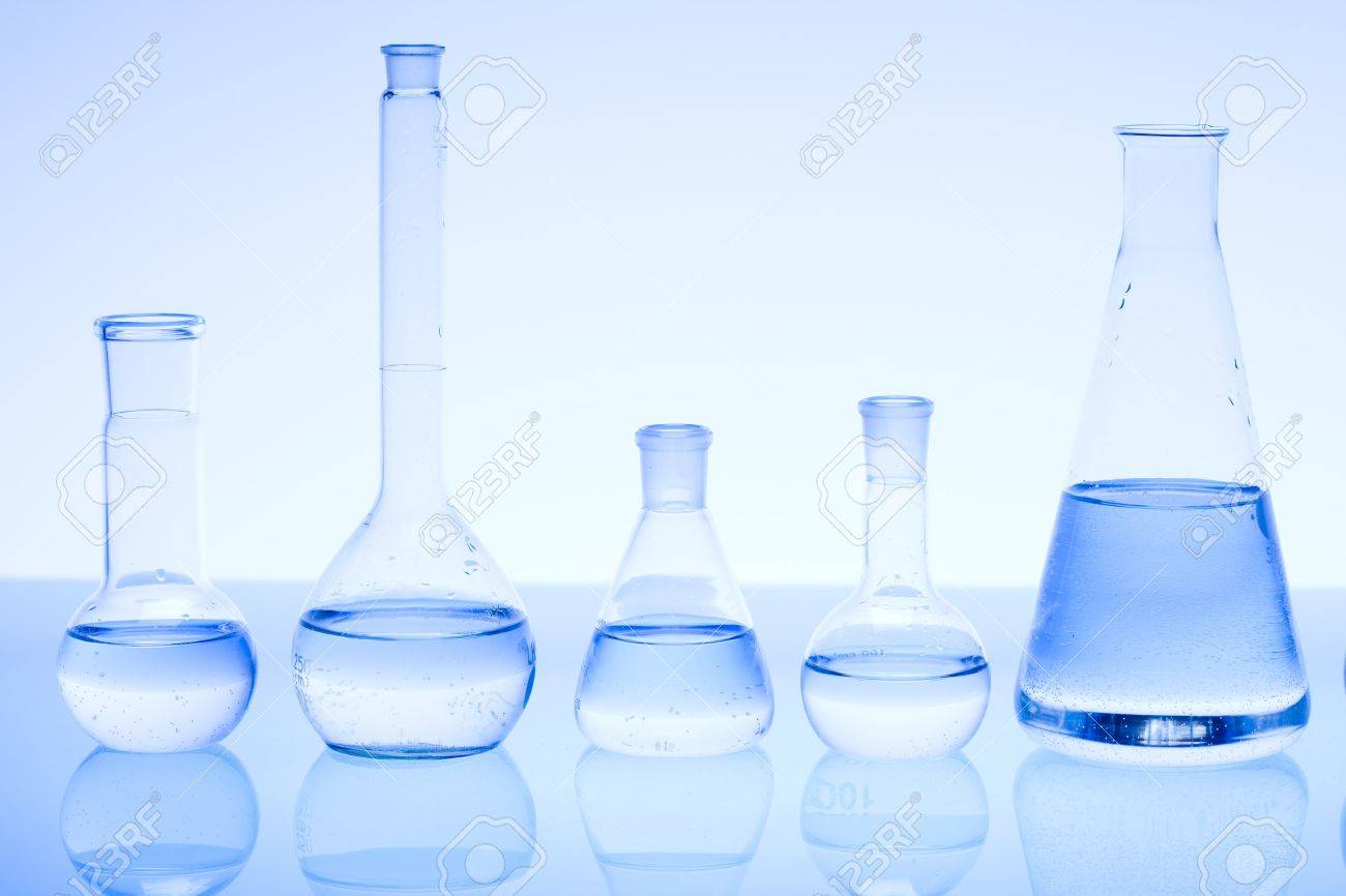 Laboratory glass Stock Photo - 8461865