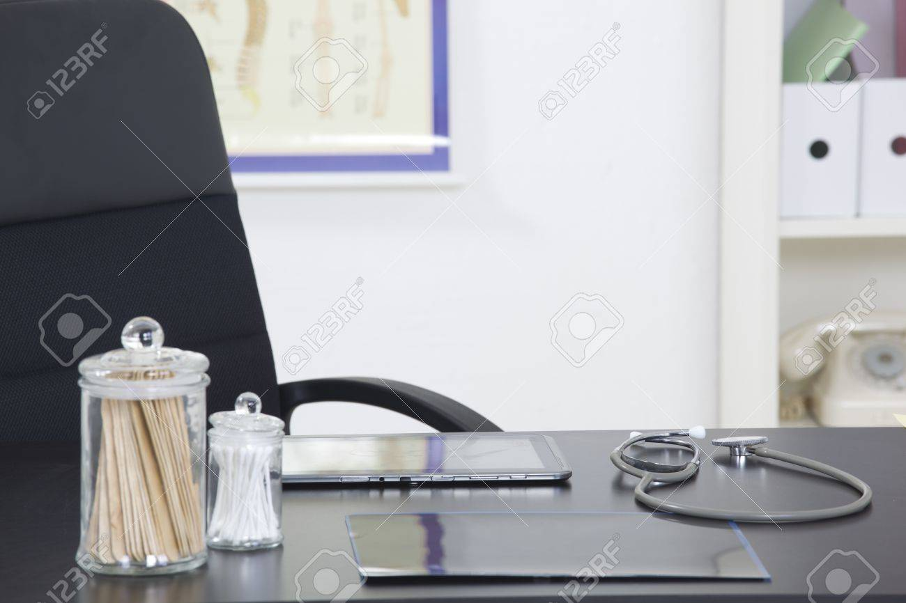 doctors office furniture. Doctor\u0027s Office Desk With Medical Supplies Documents Stethoscope Stock Photo - 20003798 Doctors Furniture