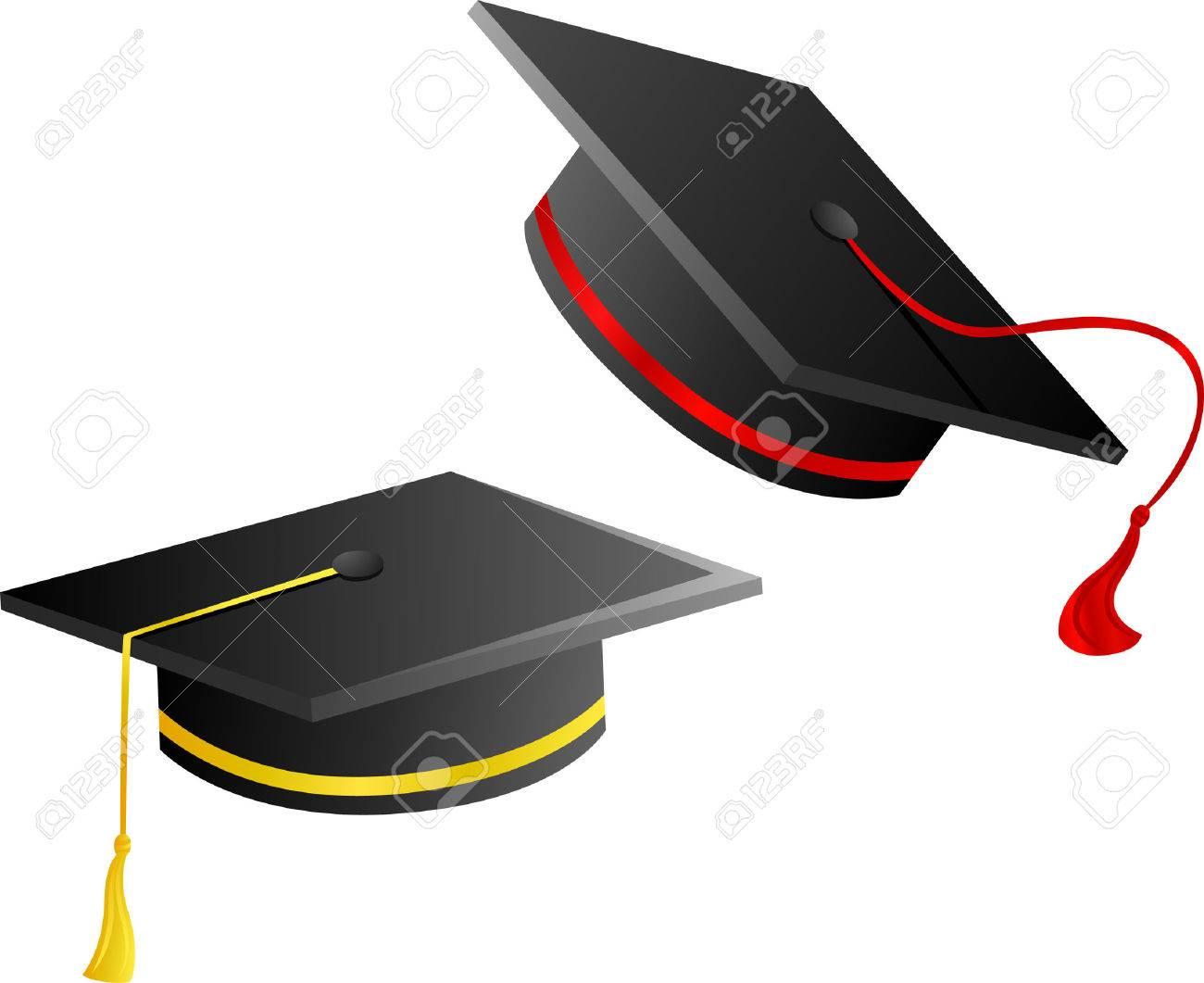 Foto de archivo , gorro de graduación 2