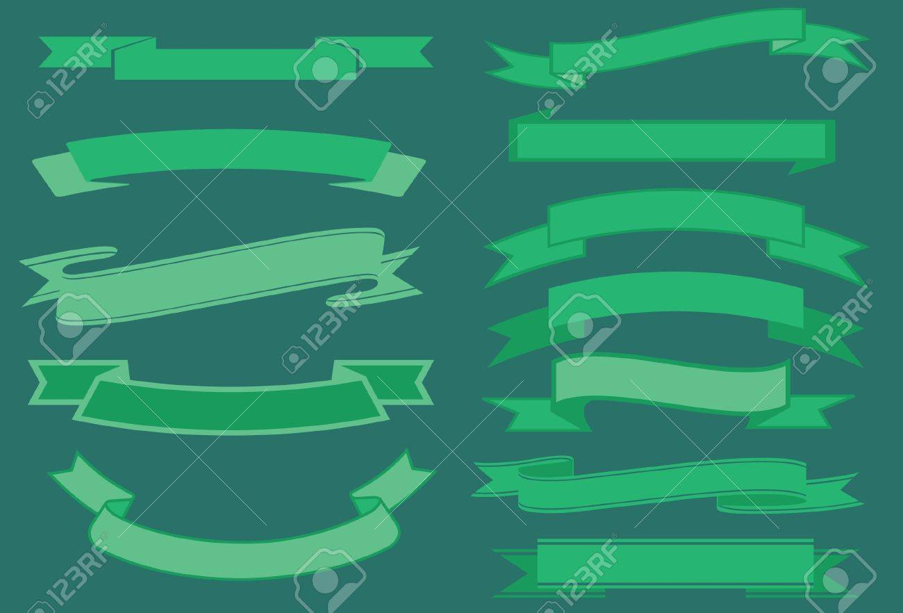 vector ribbons pack Stock Vector - 19876365