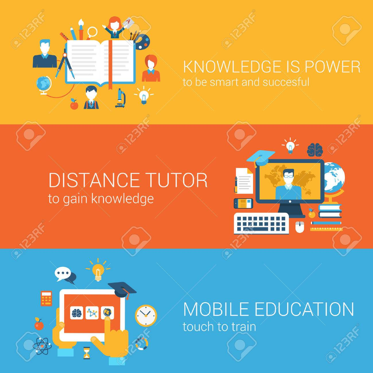 Educación Plana, El Conocimiento Es Poder, Tutor A Distancia ...