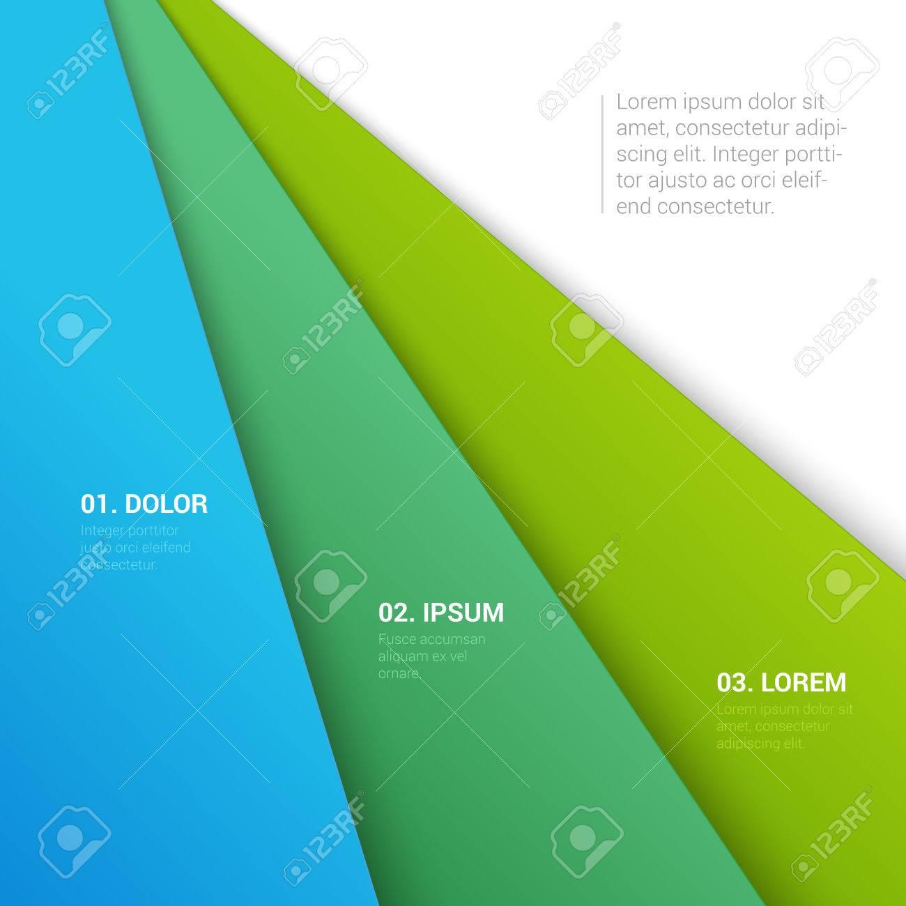 Stylish Modern Enumeration Corporate Report Motto Multicolor – Corporate Report Template